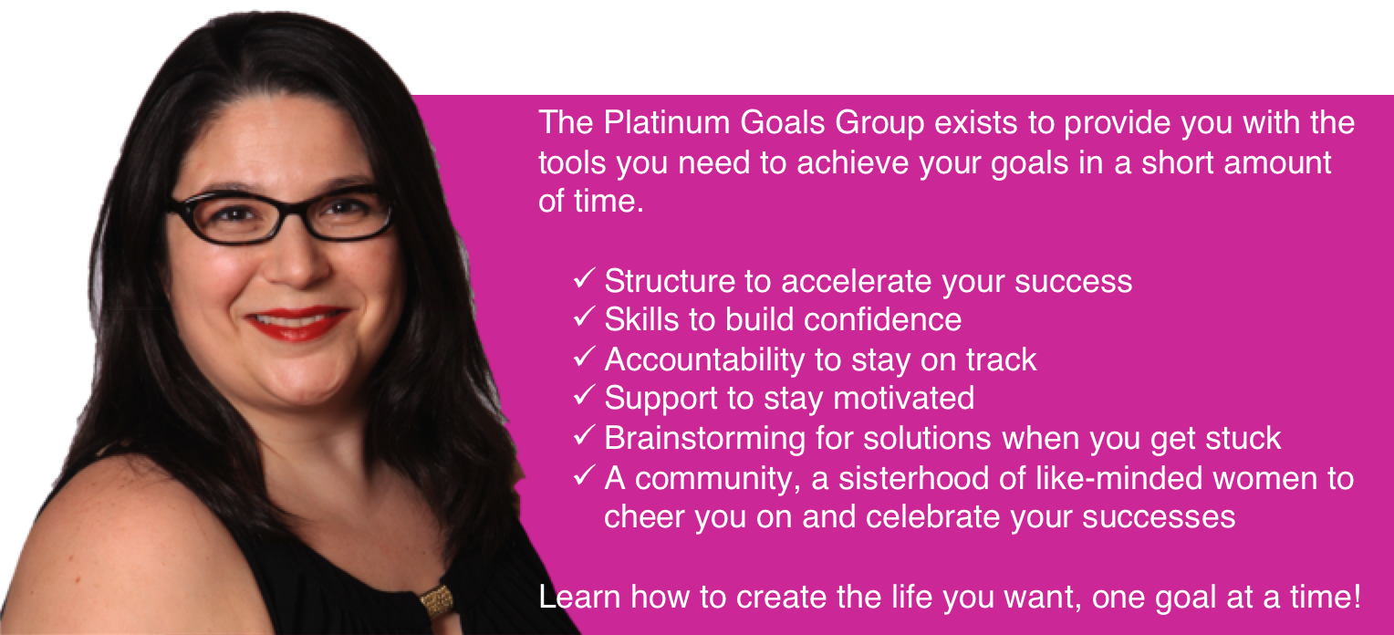 goals group features -pink