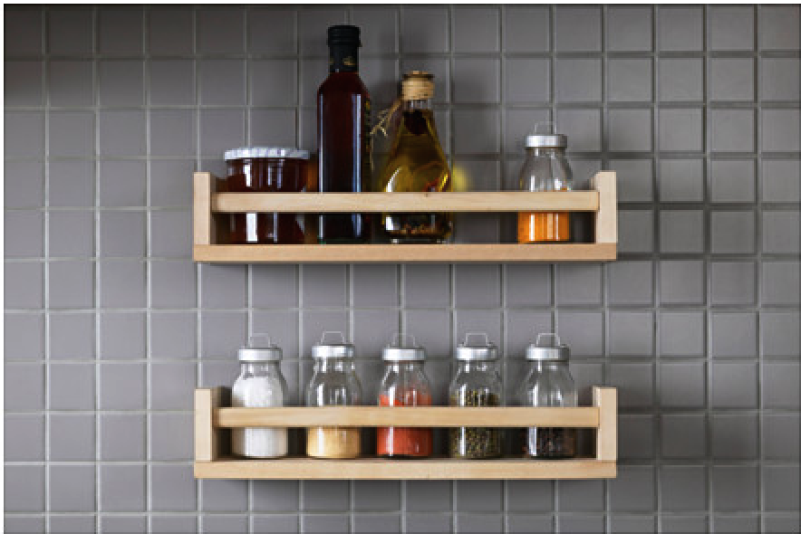 IKEA Bekvam Spice Rack - Photo: IKEA